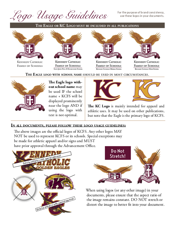 KC Style Guide Pages 2